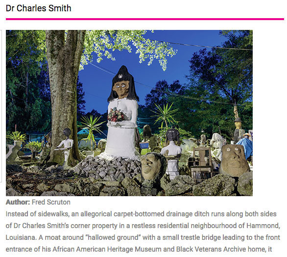 Dr. Charles Smith: Article by Fred Scruton in Raw Vision Magazine