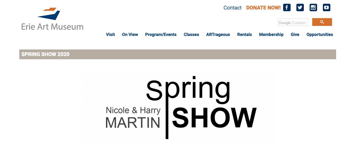 2020 Spring show