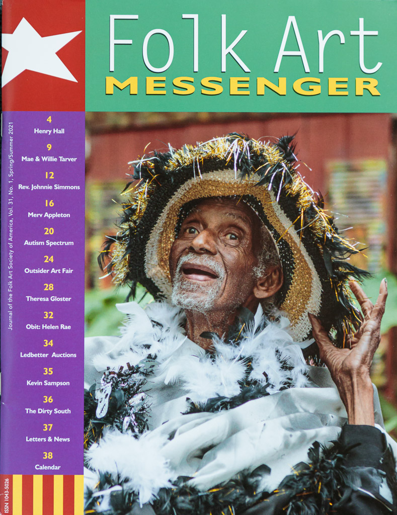 Henry Hall Folk Art Messenger Magazine Spring/Summer 2021
