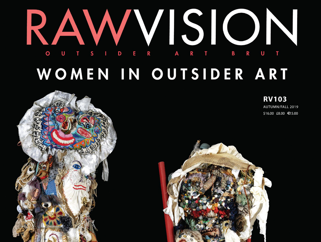 Raw Vision 103, Autumn/Fall 2019