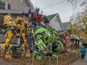 Marin, Martinez Halloween Display; Cleveland, OH 2014