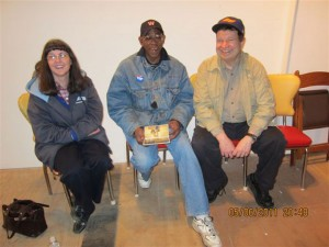 Cheryl, Willie, Fred