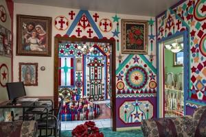 Living Room of Prophet Isaiah Robertson; Niagara Falls, NY 2016