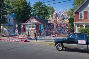Prophet Isaiah Robertson's House; Niagara Falls, NY 2011 (a)