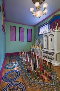 Prophet Isaiah Robertson's 'Holy Room'; Niagara Falls, NY 2016