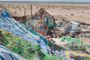 view from Salvation Mountain; Niland, CA 2009 (b)