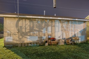 Shadows from Billy Tripp's Mindfield; Brownsville, TN 2015