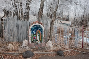 Dominic 'Cano' Espinoza's Shrine to Mary of Guadalupe; Antonito, CO 2015