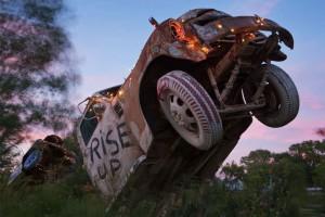 Ron Lessman's Truckhenge; Topeka, KS 2010