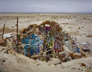 view from Salvation Mountain; Niland, CA 2009 (a)