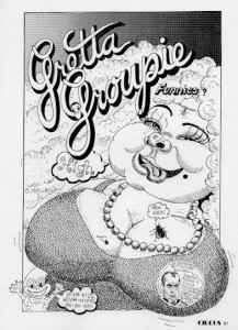 Gretta Groupie comic 1970