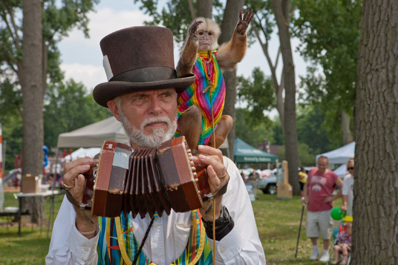 Jerry Brown; Akron Arts Festival, Akron, OH 2011