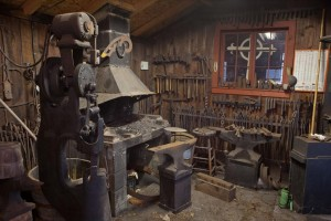William Brady Sr. blacksmith shop