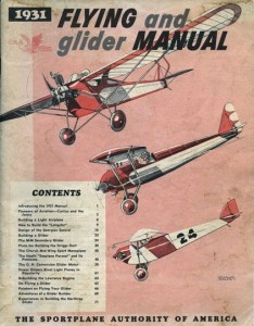 1931 Flying and glider manual