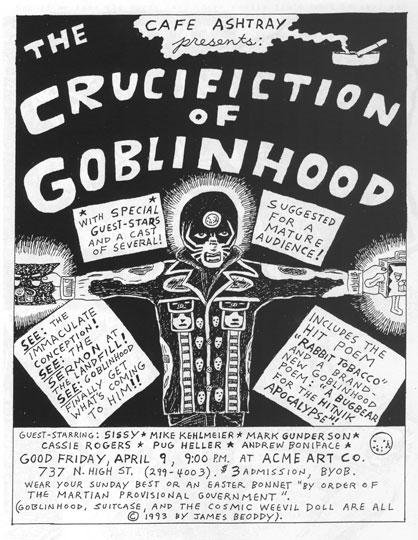 "James Beoddy: ""Crucifiction of Goblinhood"""