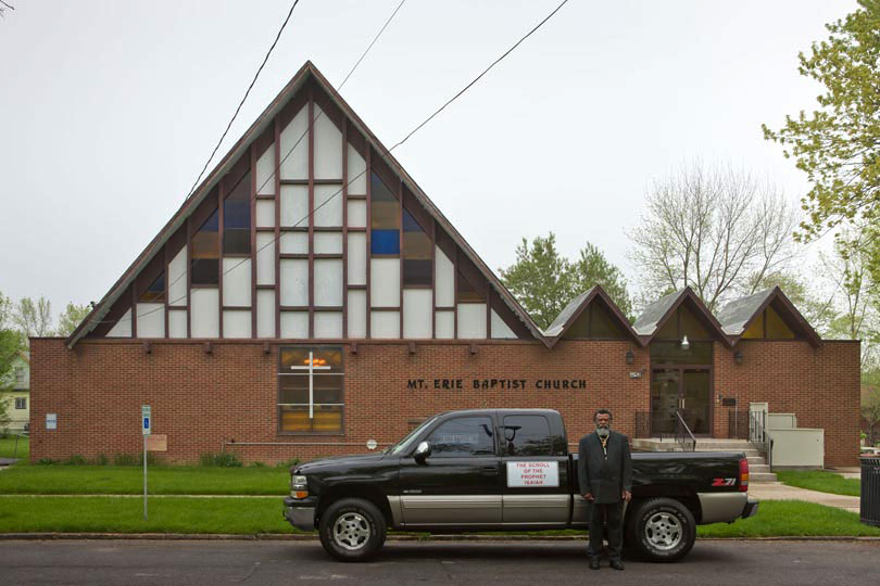 Prophet Isaiah Robertson at the Mont Erie Baptist Church; Niagara Falls, NY 2011