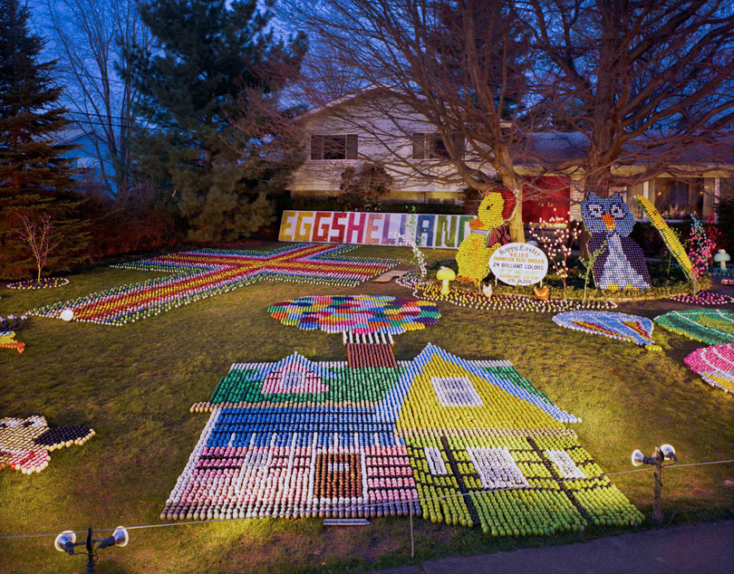 Ron and Betty Manolio's Eggshelland; Lyndhurst, OH 2011