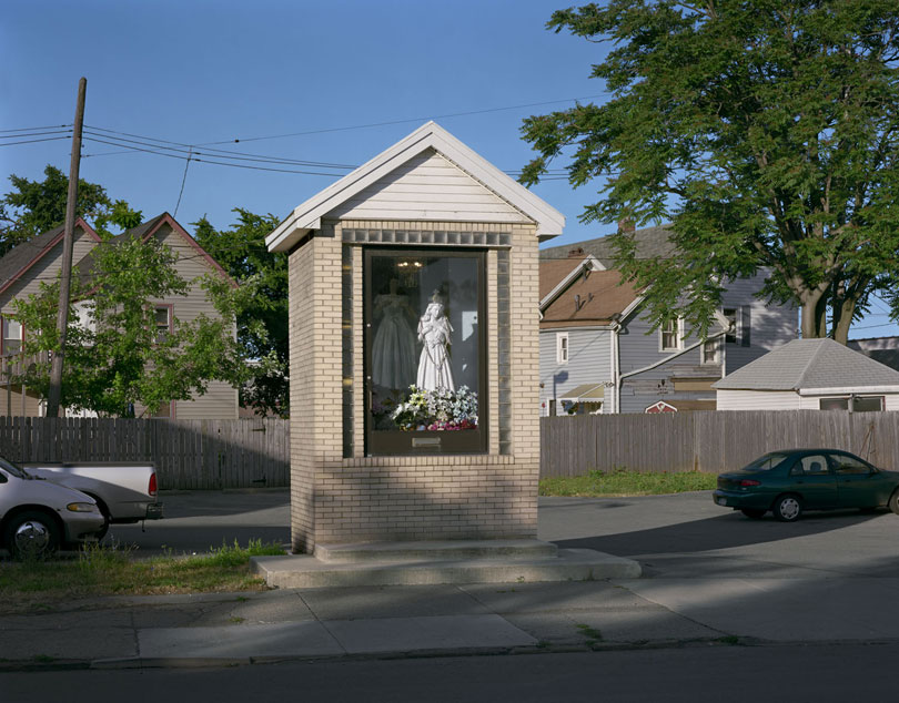 Seneca St. Shrine in 2007