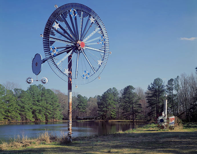 Work of Vollis Simpson; Lucama, NC 2007