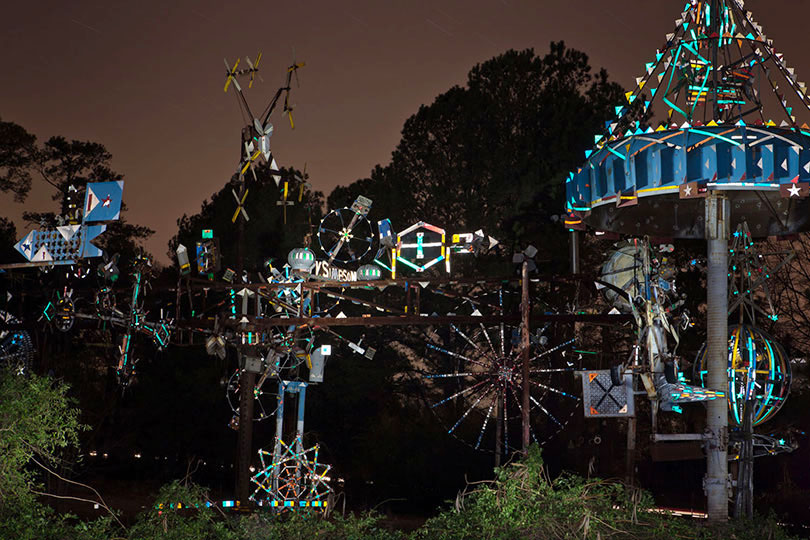 Work of Vollis Simpson; Lucama, NC 2011
