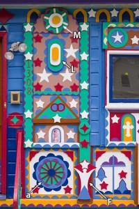 Prophet Isaiah Robertson house detail #3