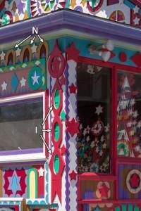 Prophet Isaiah Robertson house detail #6