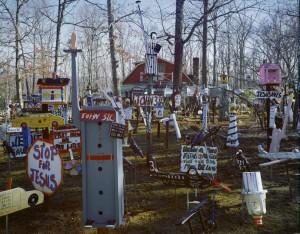 Benny Carter's Yard; Mayodan, NC 2008