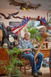Wade Wharton [1937-2014]; Huntsville, AL 2012 (b)