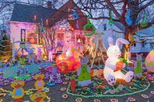 Steve Kaselak's Jellybeanville; Cleveland, OH 2015 (a)